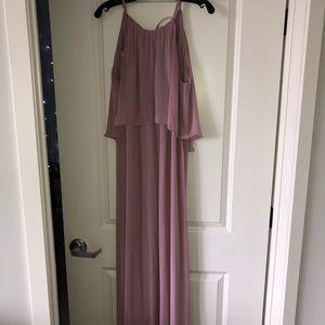 David's Bridal Quartz Bridesmaids Dress